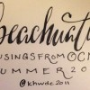 #beachuations: musings from OCMD
