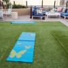 Complimentary yoga by the pool