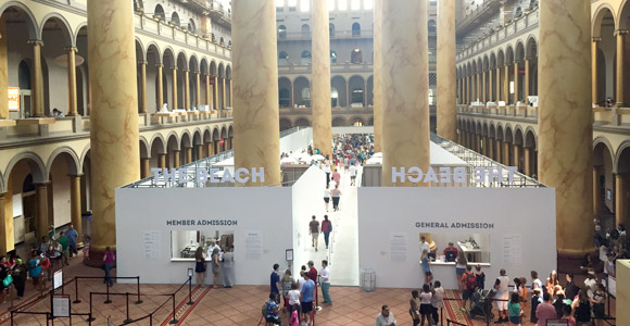 National Building Museum's Great Hall