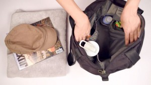 Roomy tote bag compartment