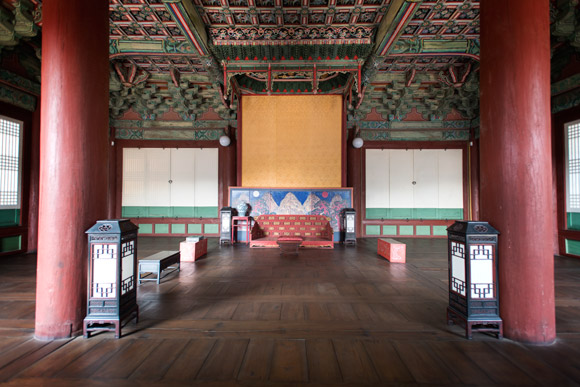 Changdeokgung Palace Interior