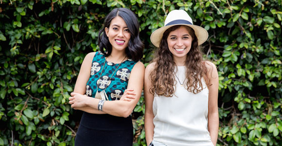 Enrou founders, Ann Wang and Jessica Willison