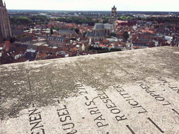 View from Brugge's Belfry