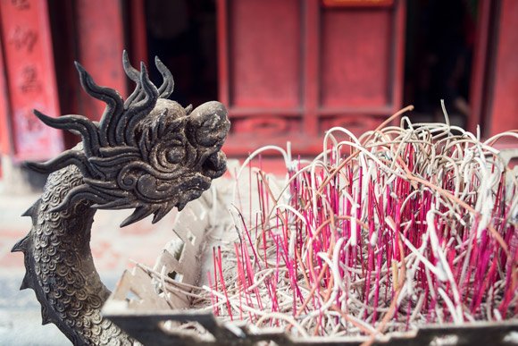 Incense at Temple of Literature