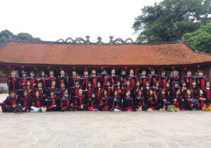 Graduates at the Temple of Literature