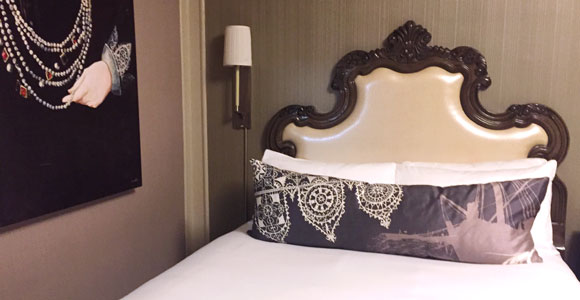 Sir Francis Drake Hotel Guest Room