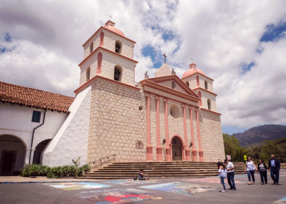 Old Santa Barbara Mission